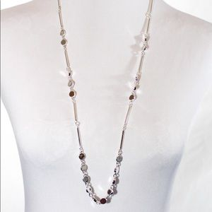 Talbots Silver Tone Chain Necklace